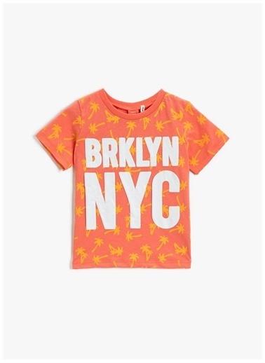 Koton Koton T-Shirt Mercan